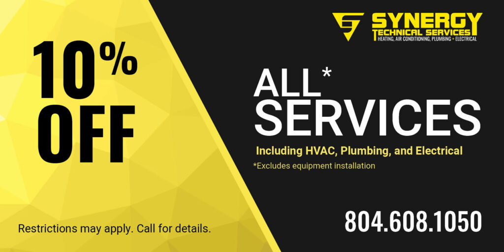 10% off all services coupon.